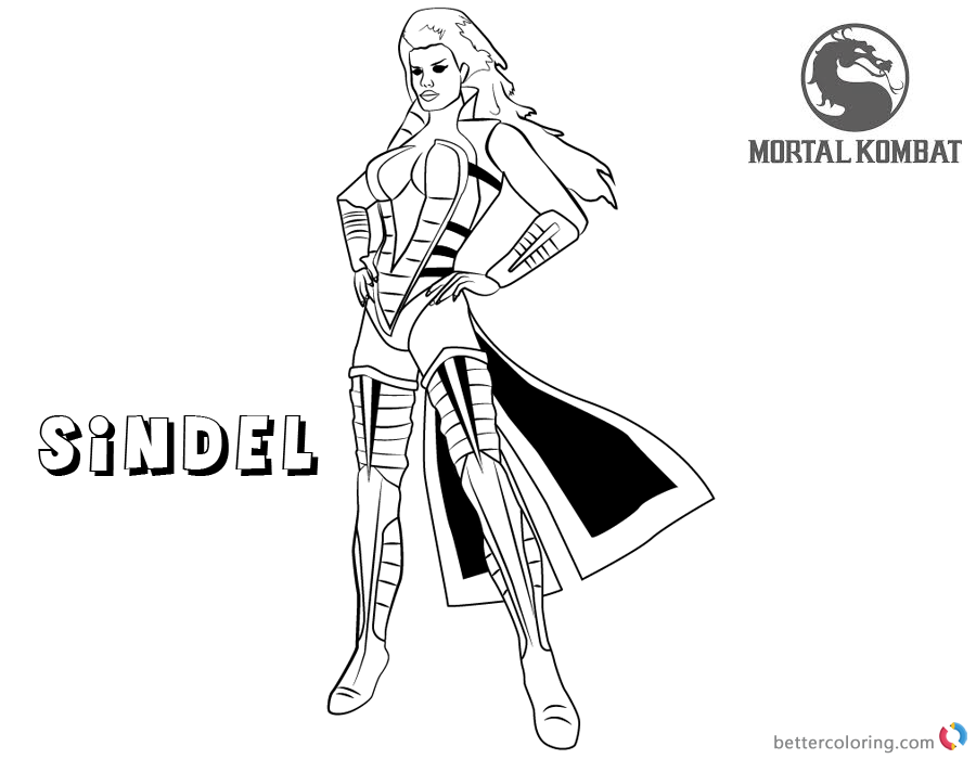 dorable mortal kombat coloring pages smoke image collection