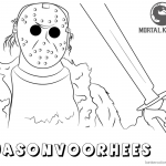 Jason Voorhees Coloring Pages Photo Album - Sabadaphnecottage