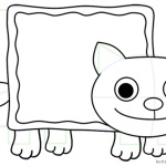 Nyan Cat Coloring Pages How to Draw Nyan Cat