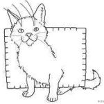 Nyan Cat Coloring Pages Random by Chumi-chan
