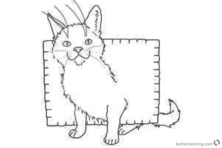 Nyan Cat Coloring Pages Random by Chumi-chan printable