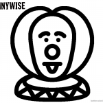 Pennywise Coloring Pages 1990 It Free Printable Coloring Pages