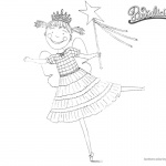 Smile Pinkalicious Coloring Pages