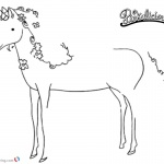 Pinkalicious Coloring Pages Unicorn Pet