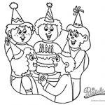 Pinkalicious Coloring Pages birthday party