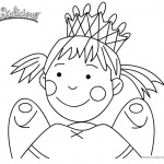 Pinkalicious Coloring Pages Fairy