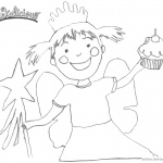 Pinkalicious Coloring Pages Fanart Clipart