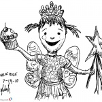 Pinkalicious Coloring Pages kids art