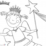 Pinkalicious Coloring Pages Lineart
