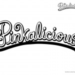 Pinkalicious Coloring Pages Logo