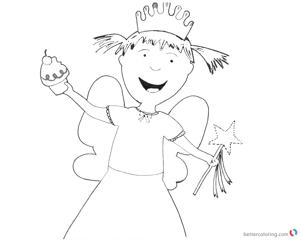 Pinkalicious Coloring Pages Nancy Fairies - Free Printable Coloring ...