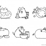 Pusheen Coloring Pages Chief Pusheen