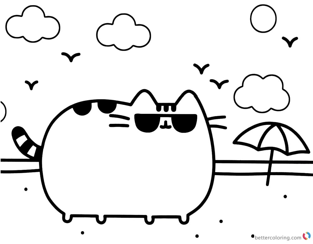 Cats Wiith Glasses Print