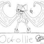 Splatoon 2 Coloring Pages Mindcontrolled Callie