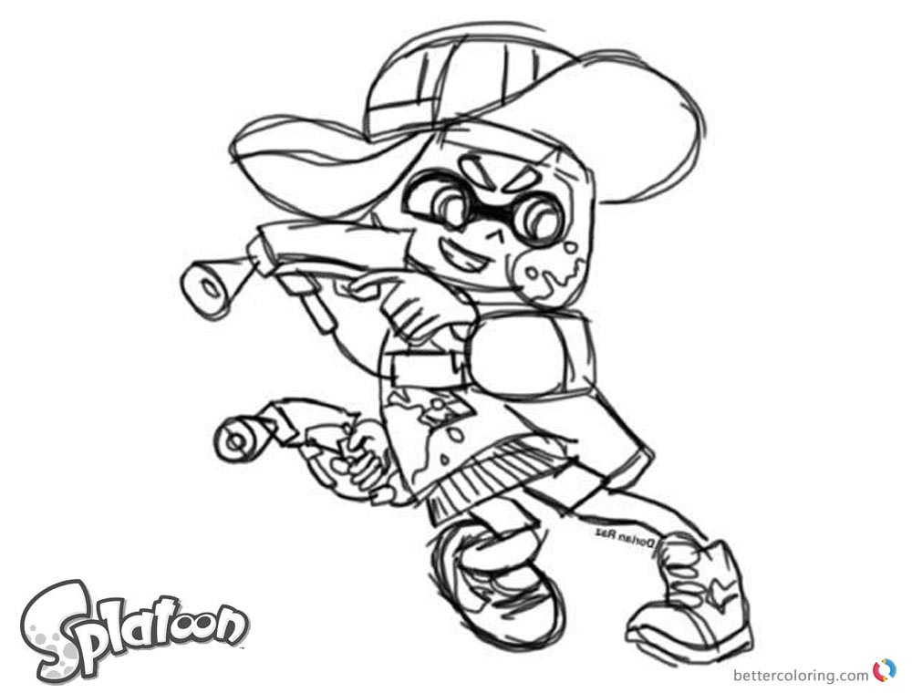 how to draw well on splatoon 2