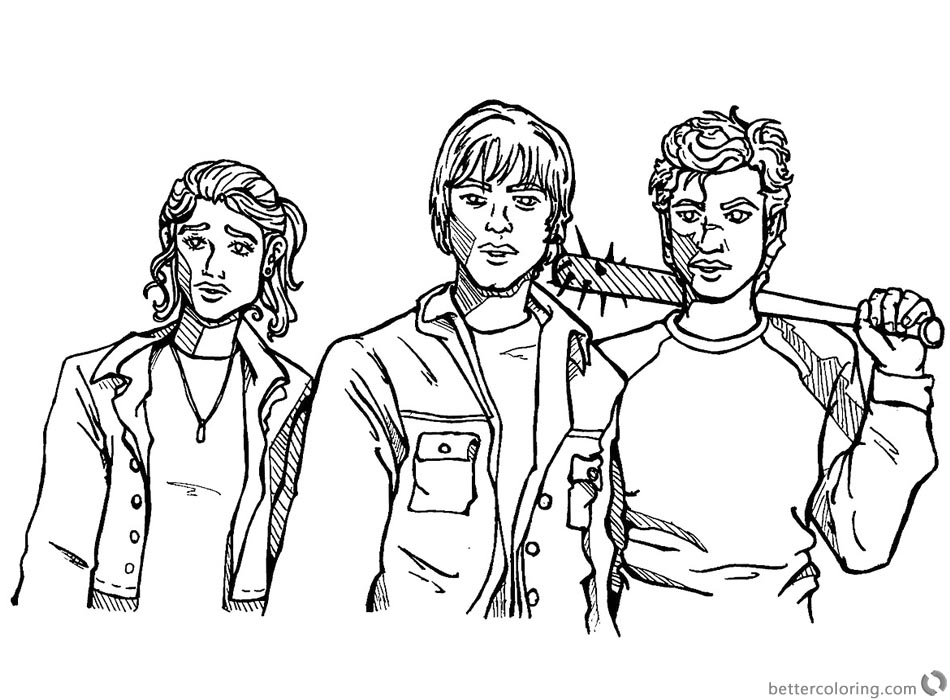 Stranger Things Coloring Pages monster hunting by sheenabooom ...