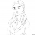 Stranger Things Coloring Pages Nancy Wheeler Awesome Art