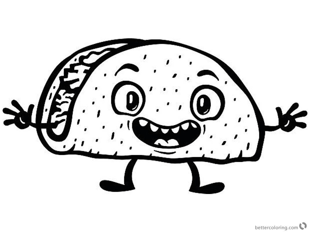Attractive taco