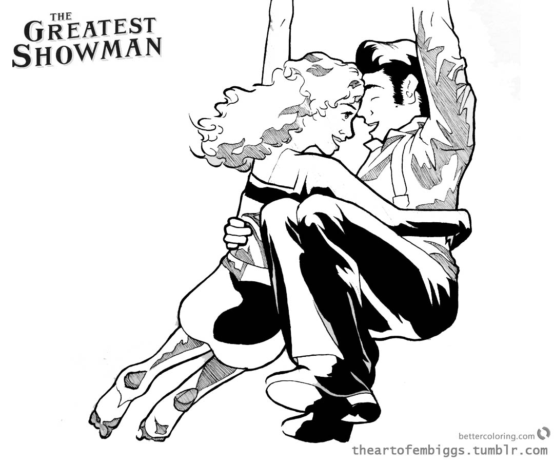 the greatest showman coloring pages | The Greatest Showman Anne Wheeler Coloring Pages Fan art ...