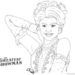 The Greatest Showman Anne Wheeler Coloring Pages Zendaya Fan Art