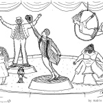 free The Greatest Showman Coloring Pages Great Drawing