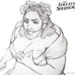 The Greatest Showman Lettie Coloring Pages Fan Art