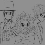 The Greatest Showman Coloring Pages Lettie Lutz Phillip and Anne Wheeler