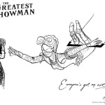 The Greatest Showman Coloring Pages Line Art
