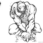 Venom Coloring Pages Awesome Picture by harosais1
