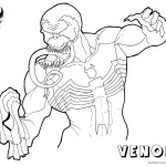 Venom Coloring Pages Fabulous Lineart by jester_in_crisis