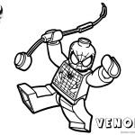 Venom Coloring Pages Lego Spiderman