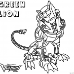Voltron Coloring Pages Black Lion Free Printable Coloring Pages