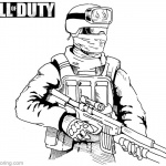 Call of Duty Coloring Pages Drawing by danboy0812
