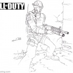 Call of Duty Coloring Pages Hand Drawing