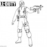 Call of Duty Coloring Pages Lineart