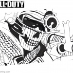 Call of Duty Printable Coloring Pages
