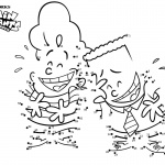 Captain Underpants Coloring Pages Characters Connect the Dots