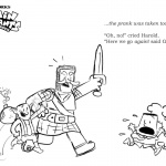Captain Underpants Coloring Pages Little Crossover