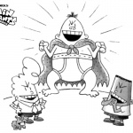 Captain Underpants Coloring Pages Nice Krupp Captain Blunderpants