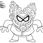 Captain Underpants Coloring Pages Professor Poopypants