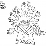 Captain Underpants Coloring Pages Tara Ribble The Adventures of Captain Underpants