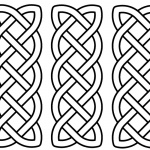 Celtic Knot Coloring Pages Three in One