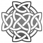 Celtic Knot Coloring Round Tattoo