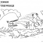 Coloring Pages of Jonah And The Whale Hand Drawing