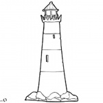 Coloring Pages of Lighthouse