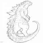 Godzilla Coloring Pages Fanart