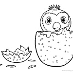 Hatchimals Colleggtibles Coloring Pages How to Draw Hatchy