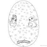 Hatchimals Coloring Pages Big Colleggtibles