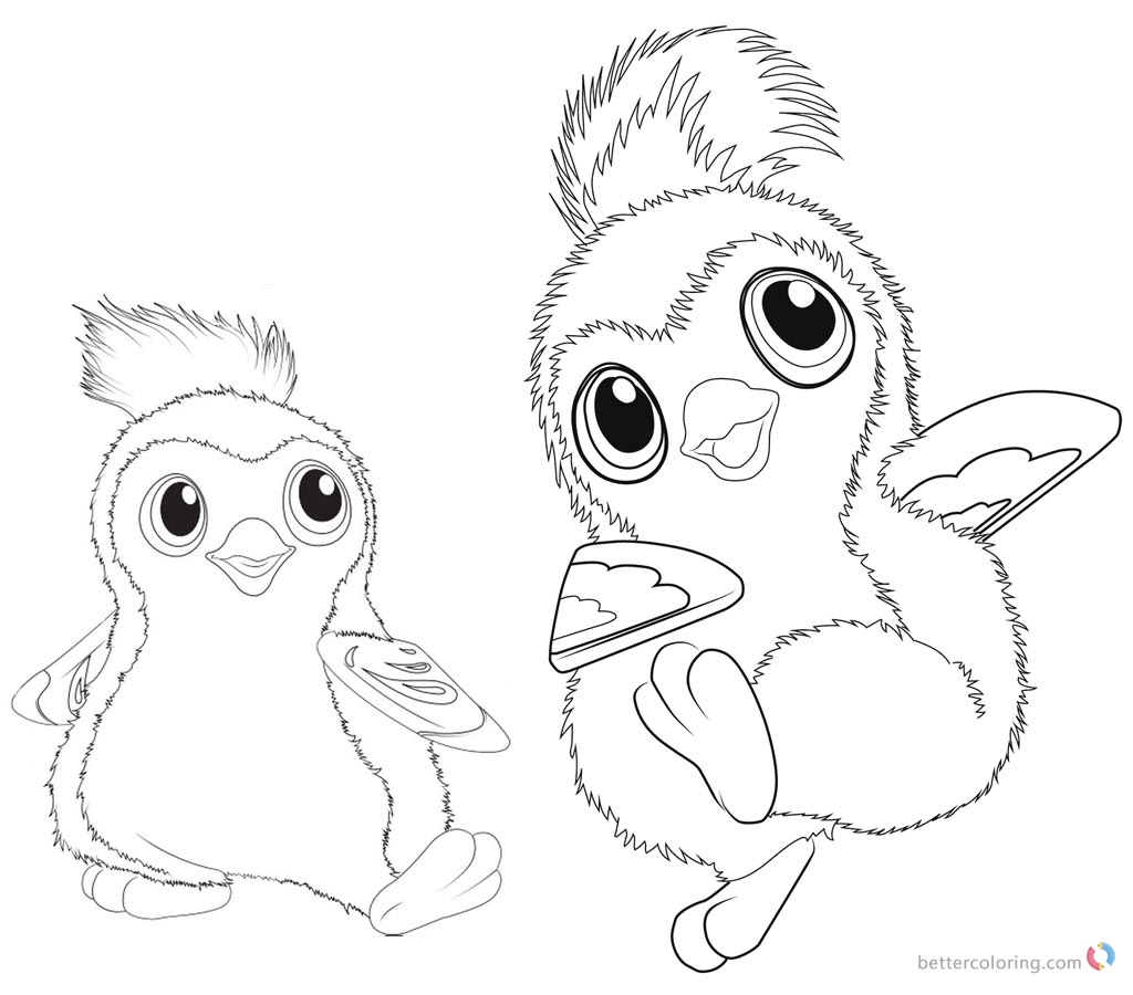 Hatchimals Coloring Pages Cute