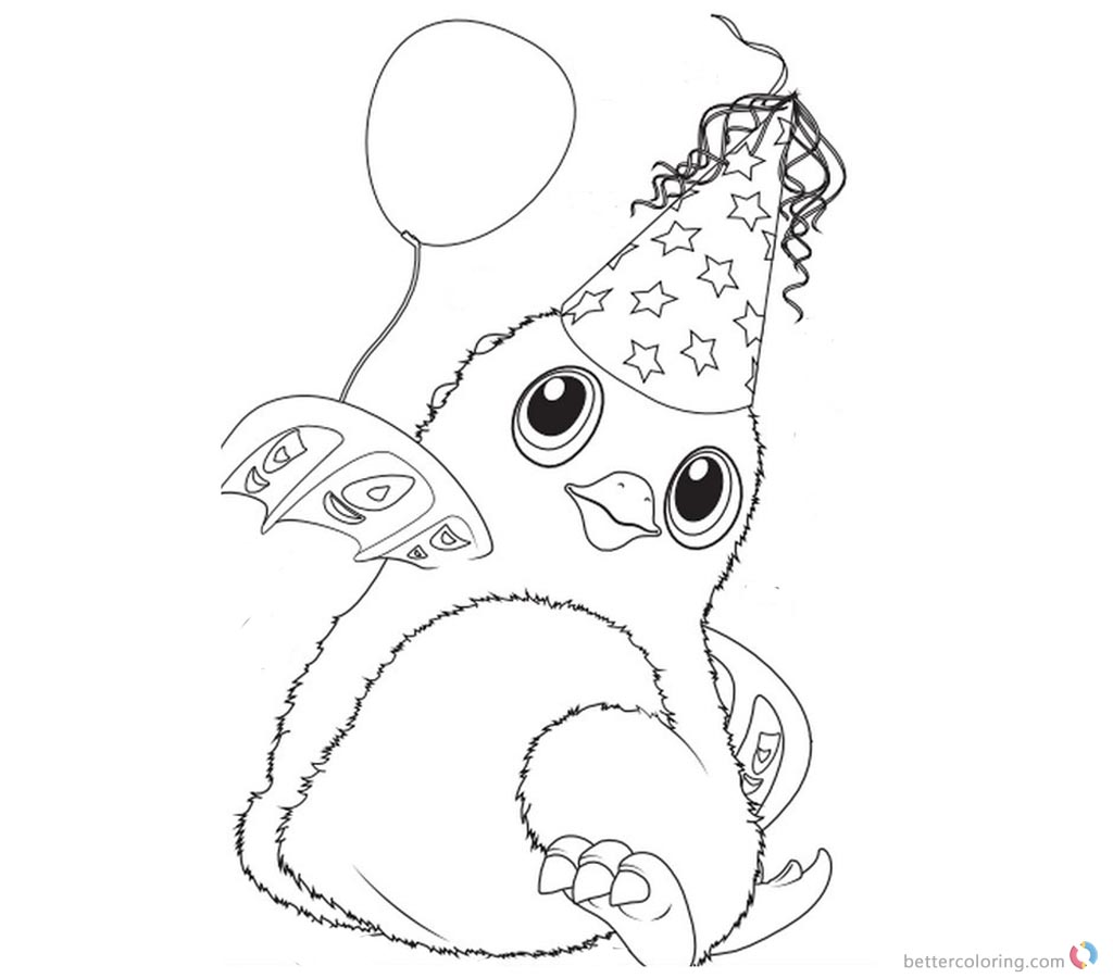Pandor From Hatchimals Coloring Pages Free Printable